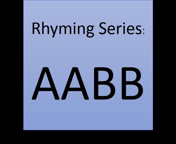 Rhyming Series: AABB – Budding...